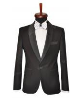 Rever Black tie contrast dots /wide