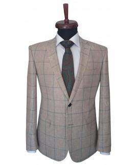 Rever A Zegna Silk Check