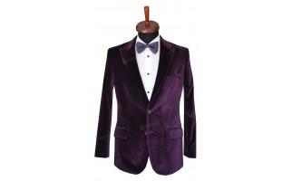 Rever Sacou Purple Velvet