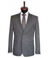 Rever Grey Business Stripes
