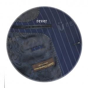 Rever Light Blue Stripes