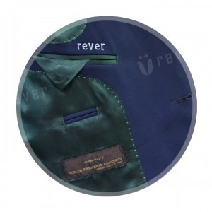 Rever Blue Button