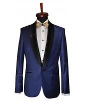 Rever Blue contrast smoking - angle pockets