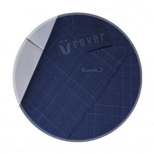 Rever Blue Check