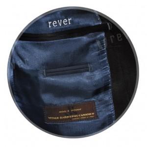 Rever Blue Contrast Smoking Metalic