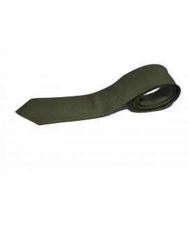 Cravata verde desen houndstooth