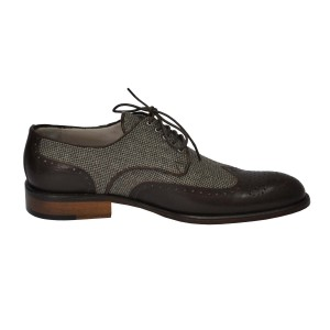 Rever Brogue wool & leather 2