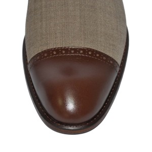 Rever Oxford wool & leather 1