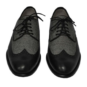 Rever Brogue wool & leather 3